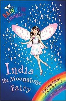 Rainbow Magic: The Jewel Fairies: 22: India the Moonstone Fairy by Daisy Meadows (2005-09-08)