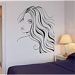 Quote Wall Decal Sticker Nursery Vinyl Saying Lettering Wall Art Inspirational Wall Decor Wall Sexy Woman Beauty Salon Hair Barber Art Mural