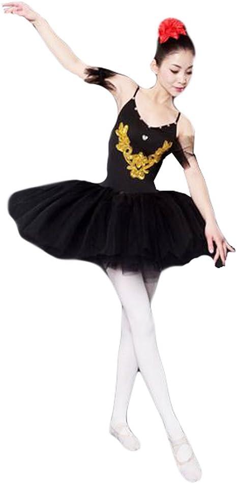 Black Temptation XL-Adulto Negro Vestido de Ballet/Falda de Ballet ...
