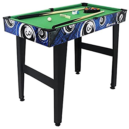 Amazoncom MD Sports Inch Billiard Table Includes Billiard - Md pool table