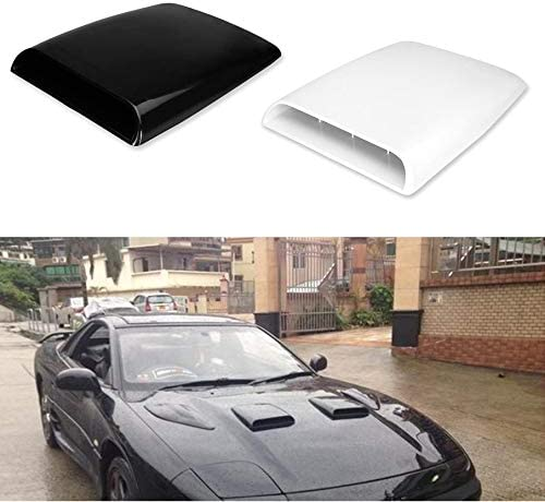 Car Auto Air Flow Intake Hood Scoop Bonnet Decorative Vent Cover Decal