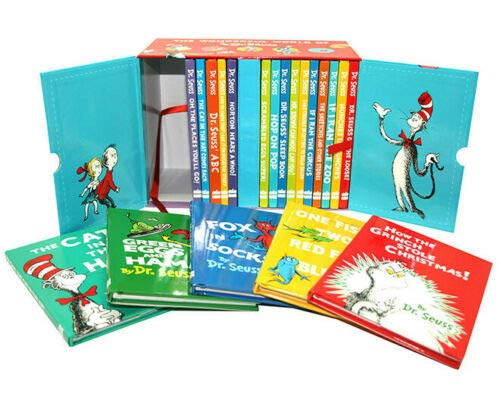 The Wonderful World of Dr. Seuss 20 Reading Books Collection Gift Box Set