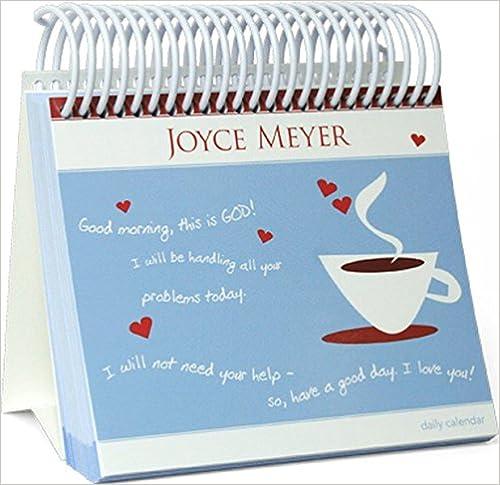 Joyce Meyer - Guten Morgen, hier spricht Gott! - Kalender: Lassen Sie sich jeden Tag auf ein Neues ermutigen. J'Espoir Shop