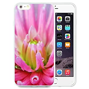 Fashionable Designed Cover Case For iPhone 6 Plus 5.5 Inch With Pink Dahlia Flower Mobile Wallpaper (2) Phone Case