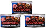 Zoo Med Can O Bloodworms: 3.2 oz (3 Pack)