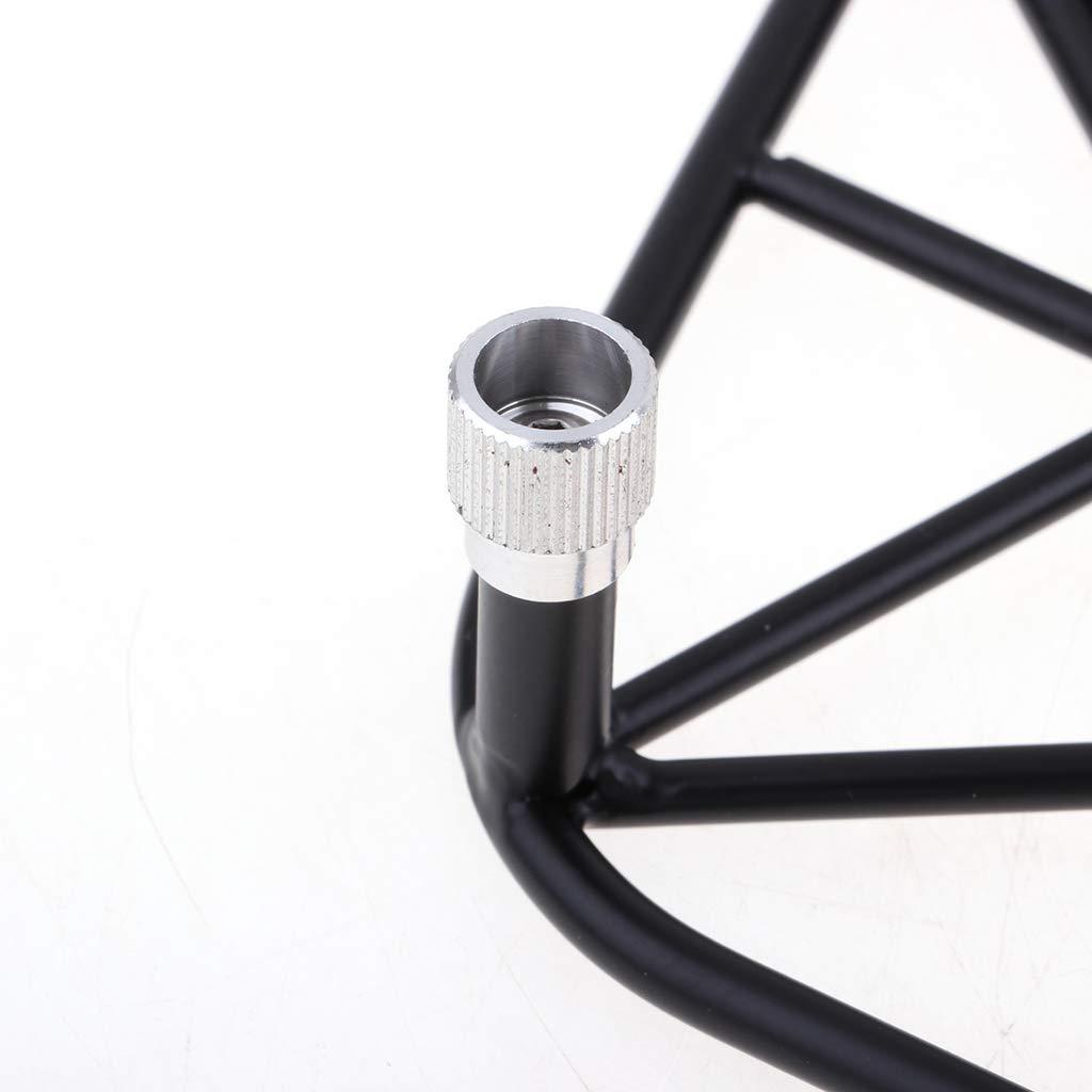 sharprepublic 1//10 RC Modelo De Veh/ículo Juguete Parachoques Trasero Trasero con Luces LED para Traxxas 4