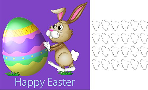 - Pin the tail on the easter bunny Party Accessory