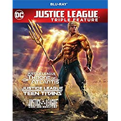 Justice League vs. Teen Titans / Gods & Monsters / Throne of Atlantis (BD) [Blu-ray]