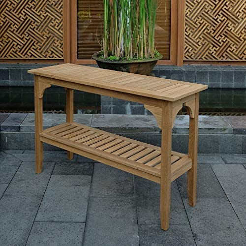 Cambridge Casual Superior Indonesian Teak Auburn Outdoor Console Table
