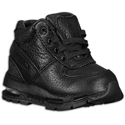 Nike Air Max Goadome Boot Infant's Shoes Size 7 Black (Nike Boys Shoes Boots)