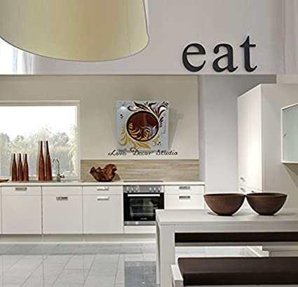 Attirant Kitchen Decor Letters EAT Original Font. Kitchen Wall Decor, Kitchen Signs,  Eat Letters