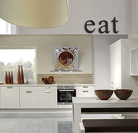 Amazon.de: Küche Decor Buchstaben Eat Original Schriftart. Küche ...