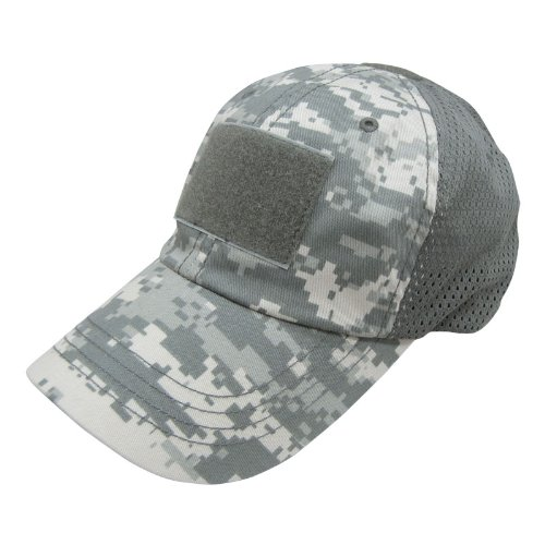 - Condor Mesh Tactical Cap (ACU, One Size Fits All)