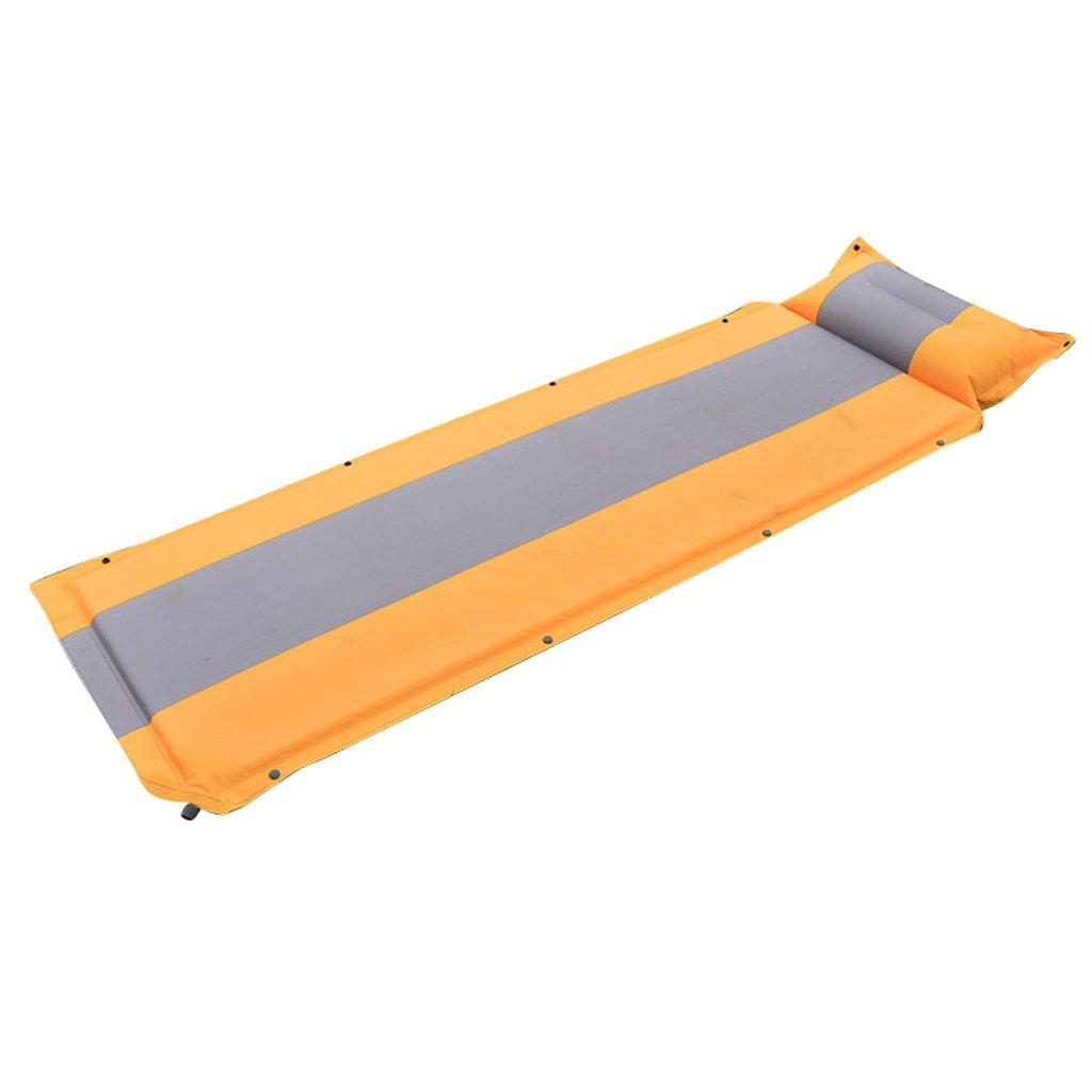 KUN Peng Shop Outdoor-Camping-Ausrüstung automatische aufblasbare Pad einzigen Matte kann genäht Werden, um Feuchtigkeit Matratze Matte A+