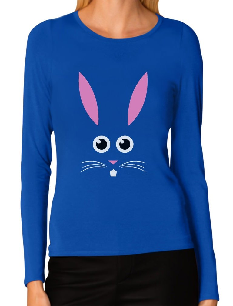 Funny Easter Bunny Face Best Gift For Easter T Shirt 7489