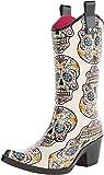 Blazin Roxx Women's Sugar Skull Cowgirl Rain Boot Snip Toe