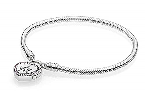 99b95c6882c846 Pandora Bracciale con Charm Donna argento - 596586fpc-18: Amazon.it ...