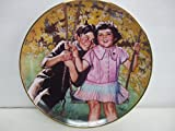 The Franklin Mint Heirloom Collection - The Little Rascals STUCK ON YOU - Collector Plate