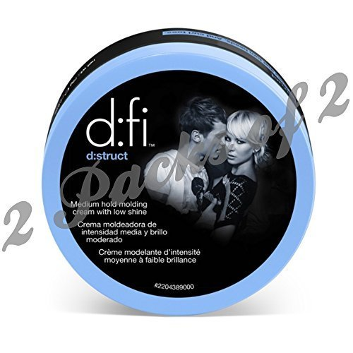 D:Fi D:Struct Medium Hold Molding Creme Duo- 2pk of 2 by American Crew (D Fi Pliable Molding Creme compare prices)