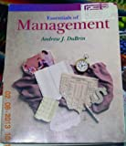 Essentials of Management, DuBrin, Andrew J., 0538829397