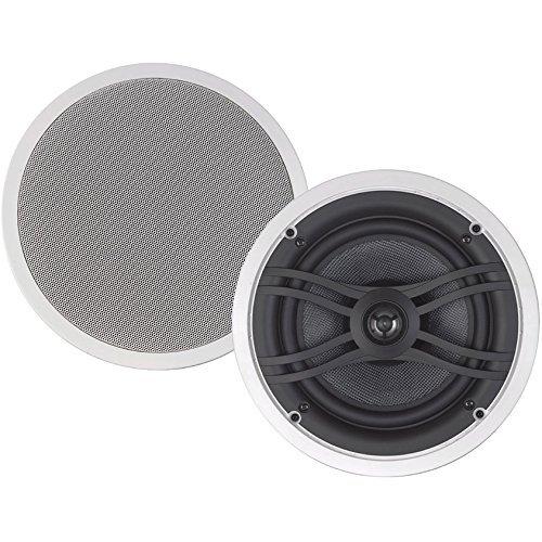 Yamaha NS-IW560C 8 2-Way In-Ceiling Speaker System for Custom Installations (White) [並行輸入品] B078FZN1LX
