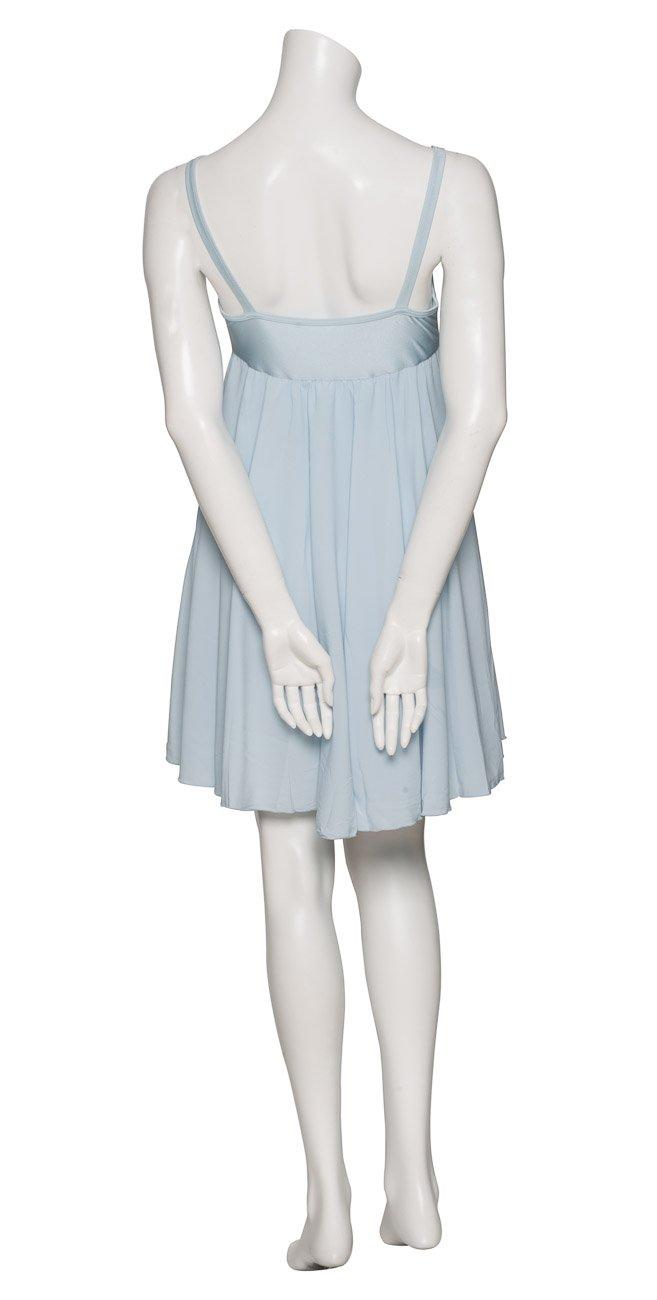 a59be3f4d Katz Dancewear Ladies Girls Pale Blue Short Sparkly Sequin Lyrical Dress  Contemporary Ballet Modern Dance Ballroom Costume: Amazon.co.uk: Sports &  Outdoors