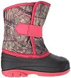 Kamik Girls' Snowbug3 Snow Boot, Camo/Pink, 7