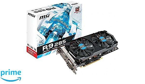 MSI 2GD5T OC Radeon R9 285 2GB GDDR5 - Tarjeta gráfica ...