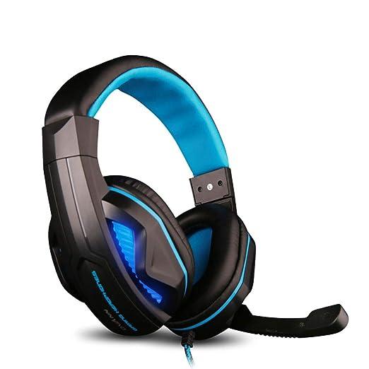 Cascos Gaming, Auriculares,Micrófono Auriculares Con Ruido Estéreo ...