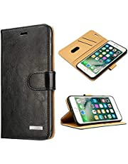 Labato Vintage Genuine Leather Wallet Cover Case for iPhone 7 & iPhone 7 Plus, Lbt-IP7-01Z / Lbt-I7L-02Z