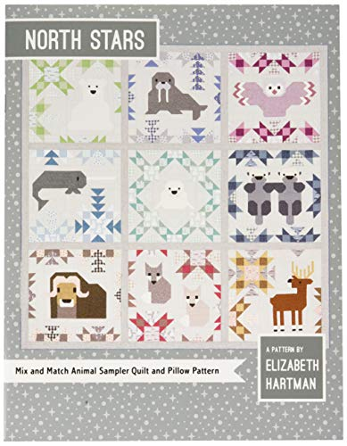 Elizabeth Hartman EH043 North Stars (Animal Quilt Patterns)
