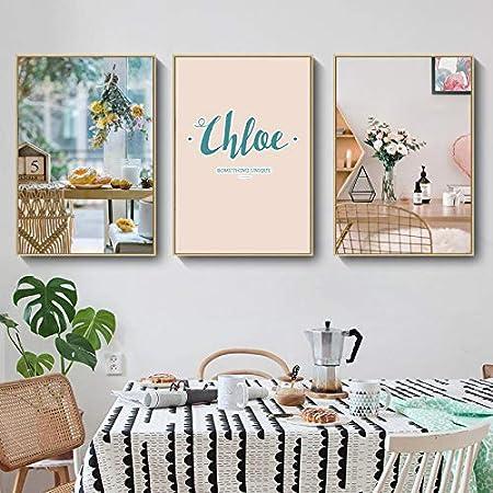 Pintura decorativa pinturas al óleo pared 3 Creative Pack manera ...