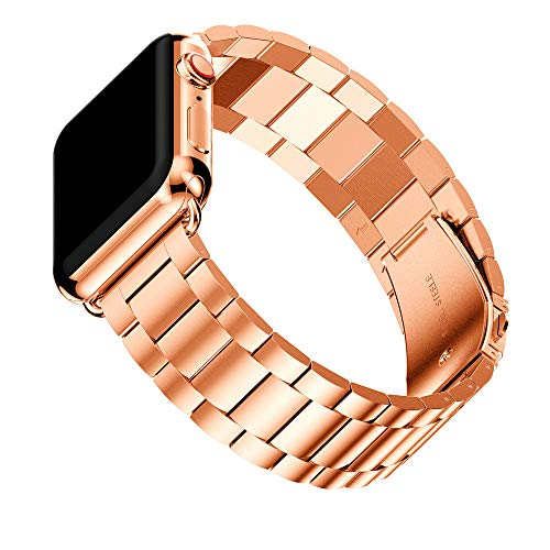 Christmas Hot Sale!!!Kacowpper Stainless Steel Watch Band Replacement Strap Compatible Apple Watch Series 4 40mm/44mm -