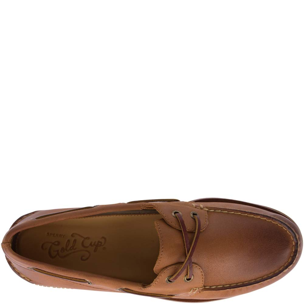 Sperry Men's Gold A/O 2-Eye Ginger 13 W US by Sperry (Image #6)