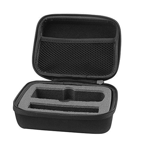 EVA Storage Case by HOLACA, Traveling Bag with Zips for the Ricoh Theta M15 & Theta V& Theta S & Theta SC (S Size)