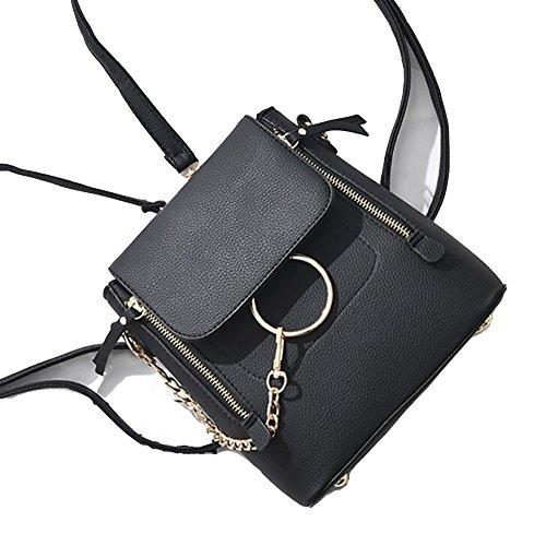PU à de décontracté sac femmes des cuir main 22  sac en dos multifonctionnel mode sac à Le souple 4qaH6wq