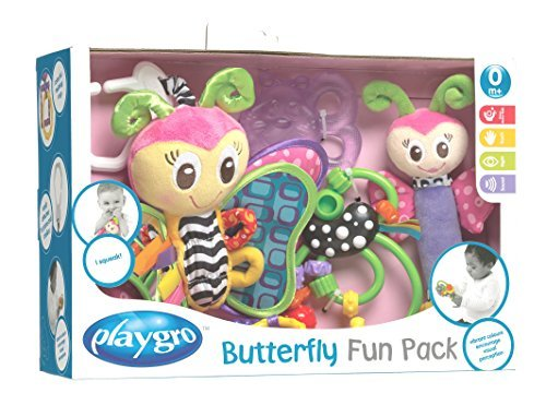 Playgro Butterfly Fun Pack [並行輸入品]   B01K1UP9MM