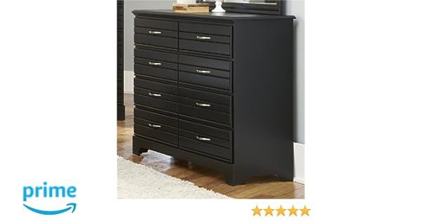 Amazon com  Carolina Furniture Works 8 Drawer Tall Dresser  Black  Kitchen    Dining. Amazon com  Carolina Furniture Works 8 Drawer Tall Dresser  Black