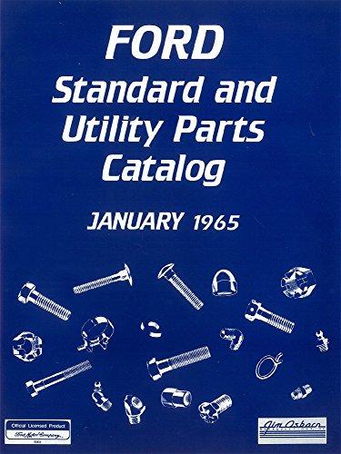 bishko automotive literature 1965 Ford Truck Standard & Utility Part Numbers List Guide Interchange -