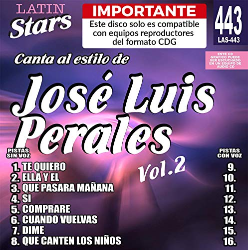 Karaoke : Jose Luis Perales Vol.2