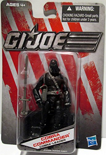G.I. Joe Exclusive Action Figure, Cobra Commander Tyranical Leader, Black Outfit -