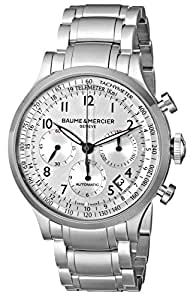 Baume & Mercier Men's BMMOA10064 Capeland Analog Display Swiss Automatic Silver Watch