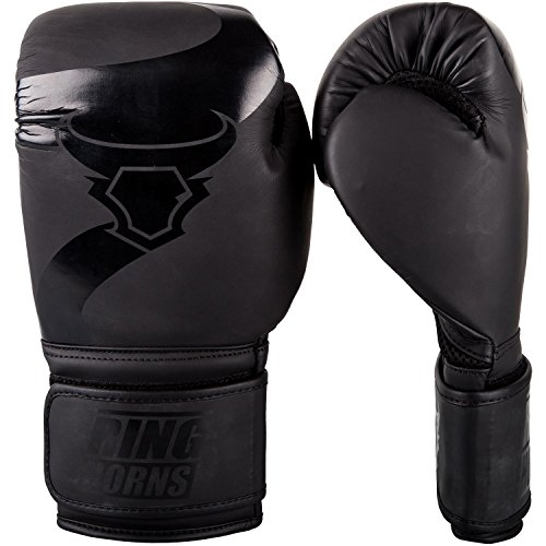 Ringhorns Charger Boxing Gloves - Black/Black - 14-Ounce