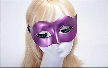 PromMask Mascara Facial Careta Protector de Cara dominó Frente Falso Hombres máscaras Halloween Disfraces Bailes máscaras