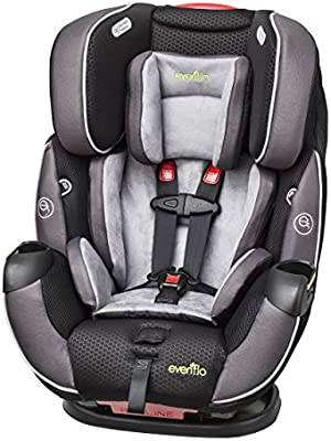Amazon Evenflo Symphony Elite All In One Convertible Car Seat Paramount Baby