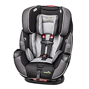 Symphony Elite All-in-One Car Seat, 5 - 110 lbs., Paramount Gray