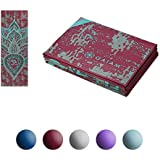"""Gaiam Yoga Mat - Folding Travel Fitness & Exercise Mat for All Types of Yoga, Pilates & Floor Exercises (68"""" x 24"""" x 2mm Thick)"""