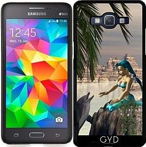 Funda para Samsung Galaxy Grand Prime (SM-G530) - Sirena Y El Delfín by nicky2342