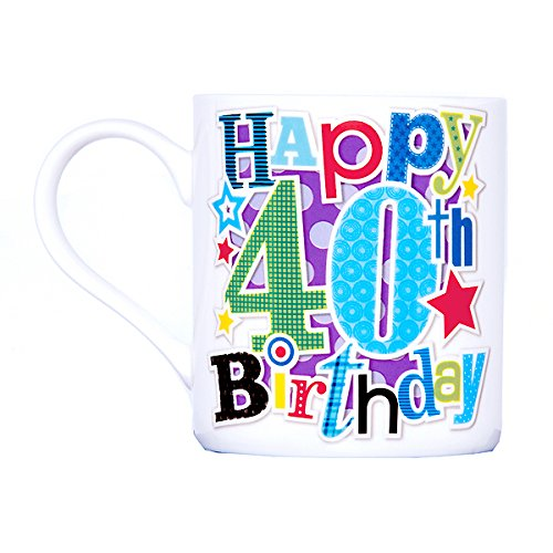 the Big Card Company Taza de Regalo de cumpleaños Macho 18th ...