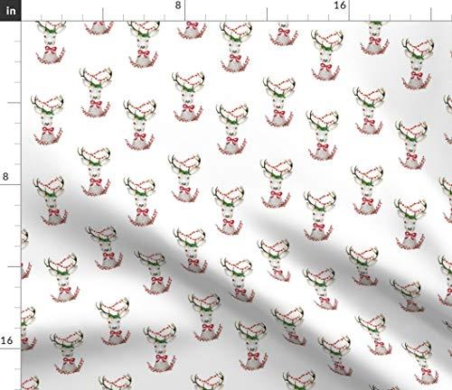 - Christmas Deer Fabric - 4